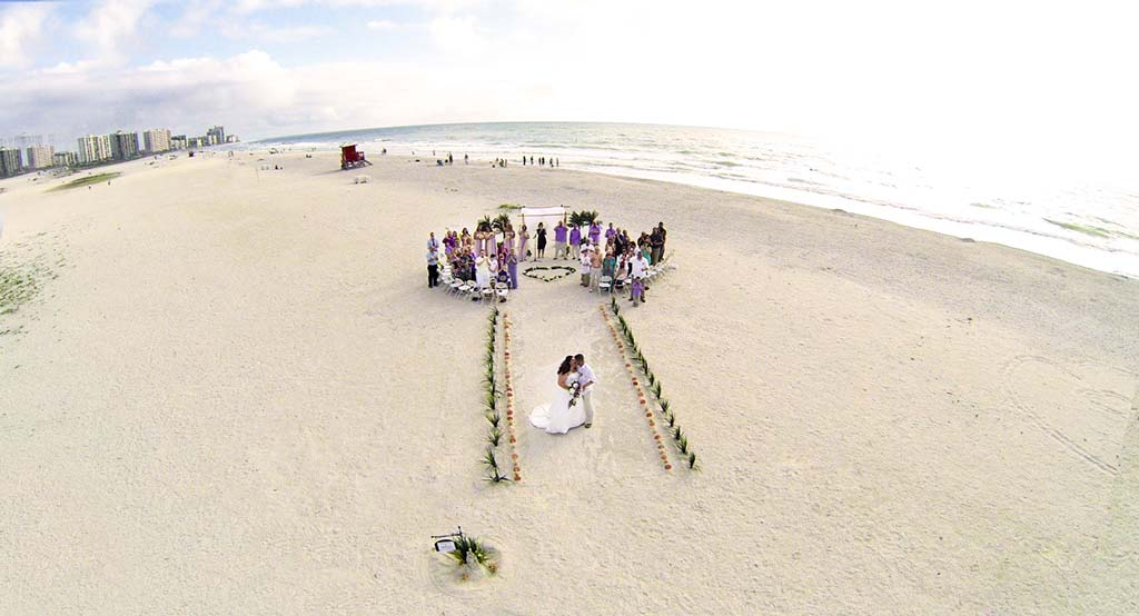 beach wedding in st petersburg fl